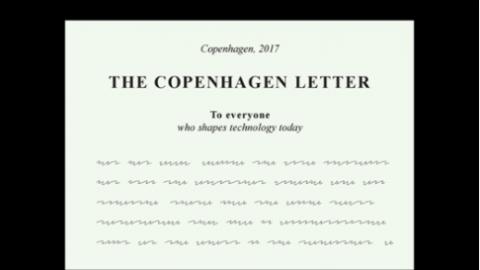 I signed the Copenhagen Letter on Ethics in Tech